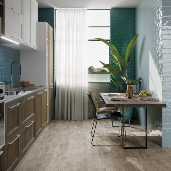 Ancien Green and Ancien Blue by Marquis Collection (wall tiles)